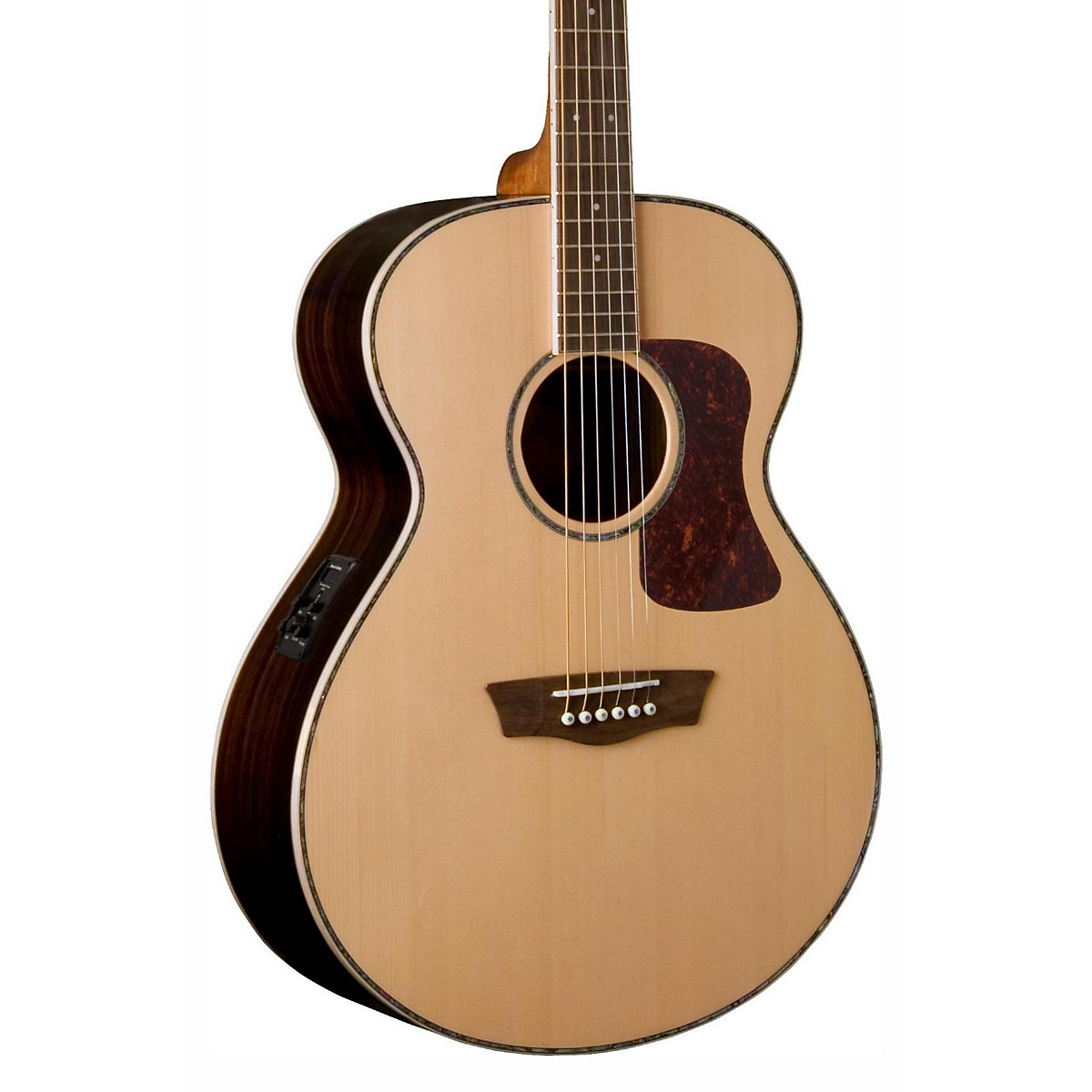 Washburn Heritage Series HG27SE-U Grand Auditorium Acoustic-Electric Guitar