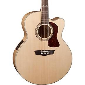 washburn heritage series usm hj40sce jumbo acoustic electric guitar natural guitar center. Black Bedroom Furniture Sets. Home Design Ideas