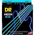 DR Strings Hi-Def NEON Blue Coated Medium 5-String (45-125) Bass Guitar Strings thumbnail