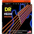 DR Strings Hi-Def NEON Orange Coated Heavy 7-String Electric Guitar Strings (11-60) thumbnail
