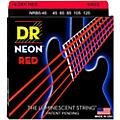 DR Strings Hi-Def NEON Red Coated Medium 5-String (45-125) Bass Guitar Strings thumbnail