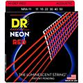 DR Strings Hi-Def NEON Red Coated Medium-Lite Acoustic Guitar Strings (11-50) thumbnail