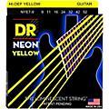 DR Strings Hi-Def NEON Yellow Coated Lite 7-String Electric Guitar Strings (9-52) thumbnail
