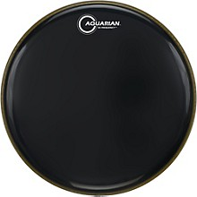 Aquarian Hi-Frequency Drumhead Black Level 1 Black 18 in.