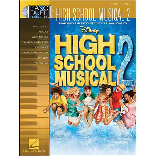 Hal Leonard High School Musical 2 Piano Duet Play-Along Volume 18 Book/CD