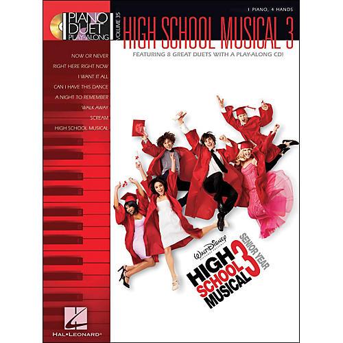 Hal Leonard High School Musical 3 - Piano Duet Play-Along Volume 35 (CD/Pkg)