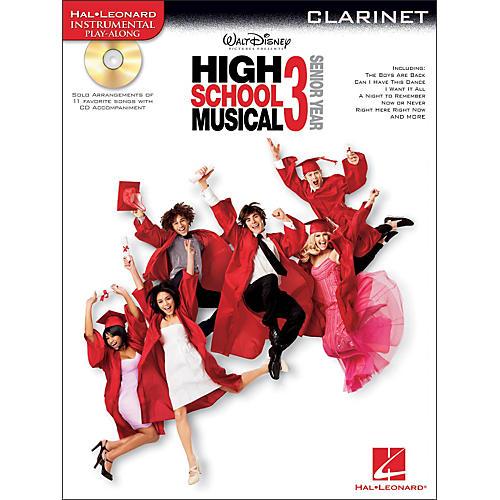 Hal Leonard High School Musical 3 for Clarinet - Instrumental Play-Along CD/Pkg