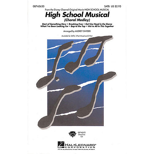 Hal Leonard High School Musical (Choral Medley) 3-Part Mixed Arranged by Audrey Snyder