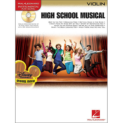 Hal Leonard High School Musical for Violin Book/CD