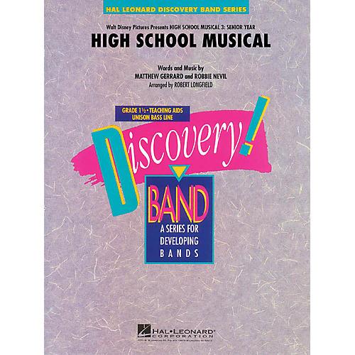 Hal Leonard High School Musical (from High School Musical 3: Senior Year) Concert Band Level 1.5 by Robert Longfield
