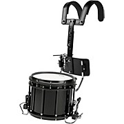 High-Tension Marching Snare Drum with Carrier 13 x 11 in. Black