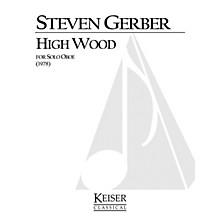 Lauren Keiser Music Publishing High Wood (for Solo Oboe) LKM Music Series