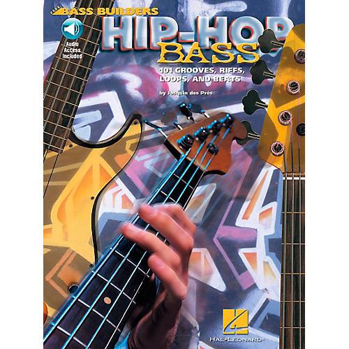 Hal Leonard Hip-Hop Bass - 101 Grooves, Riffs, Loops, and Beats Book/CD