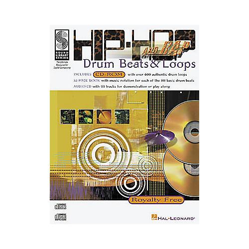 Hal Leonard Hip-Hop and Rap Drum Beats and Loops (Drums)