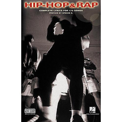 Hal Leonard Hip-Hop and Rap Lyric Library Book