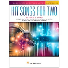 Hal Leonard Hit Songs for Two Alto Saxophones - Easy Instrumental Duets