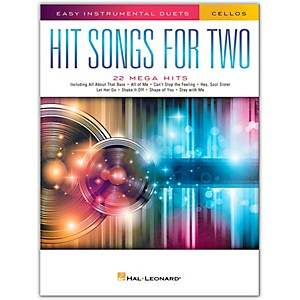 Hal Leonard Hit Songs for Two Cellos - Easy Instrumental Duets by Hal Leonard