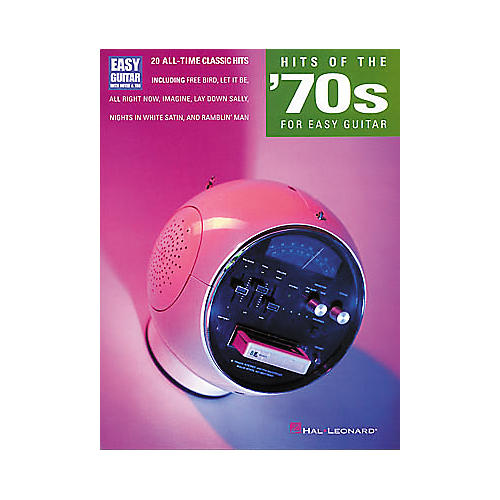Hal Leonard Hits of the 70's for Easy Guitar Book