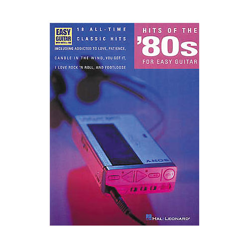 Hal Leonard Hits of the 80's for Easy Guitar Book