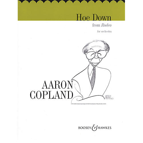 Boosey and Hawkes Hoe Down (from Rodeo) (String Orchestra) Boosey & Hawkes Orchestra Series Composed by Aaron Copland