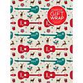 Hal Leonard Holiday Reindeer Guitar Premium Gift Wrapping Paper thumbnail