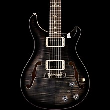 PRS Hollowbody II Flame Maple Top Electric Guitar Charcoal Burst