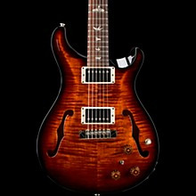 PRS Hollowbody II with Piezo Electric Guitar Black Gold Burst