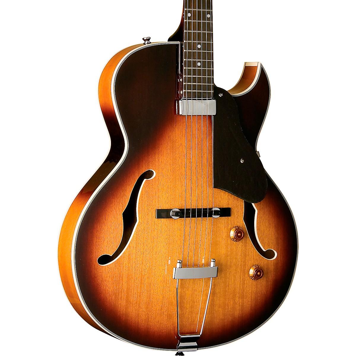 Washburn Hollowbody Mini Humbucker Electric Guitar Sunburst
