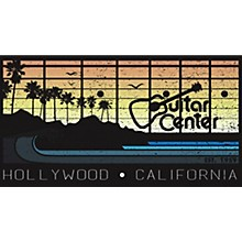 Guitar Center Hollywood - California Sunset Magnet