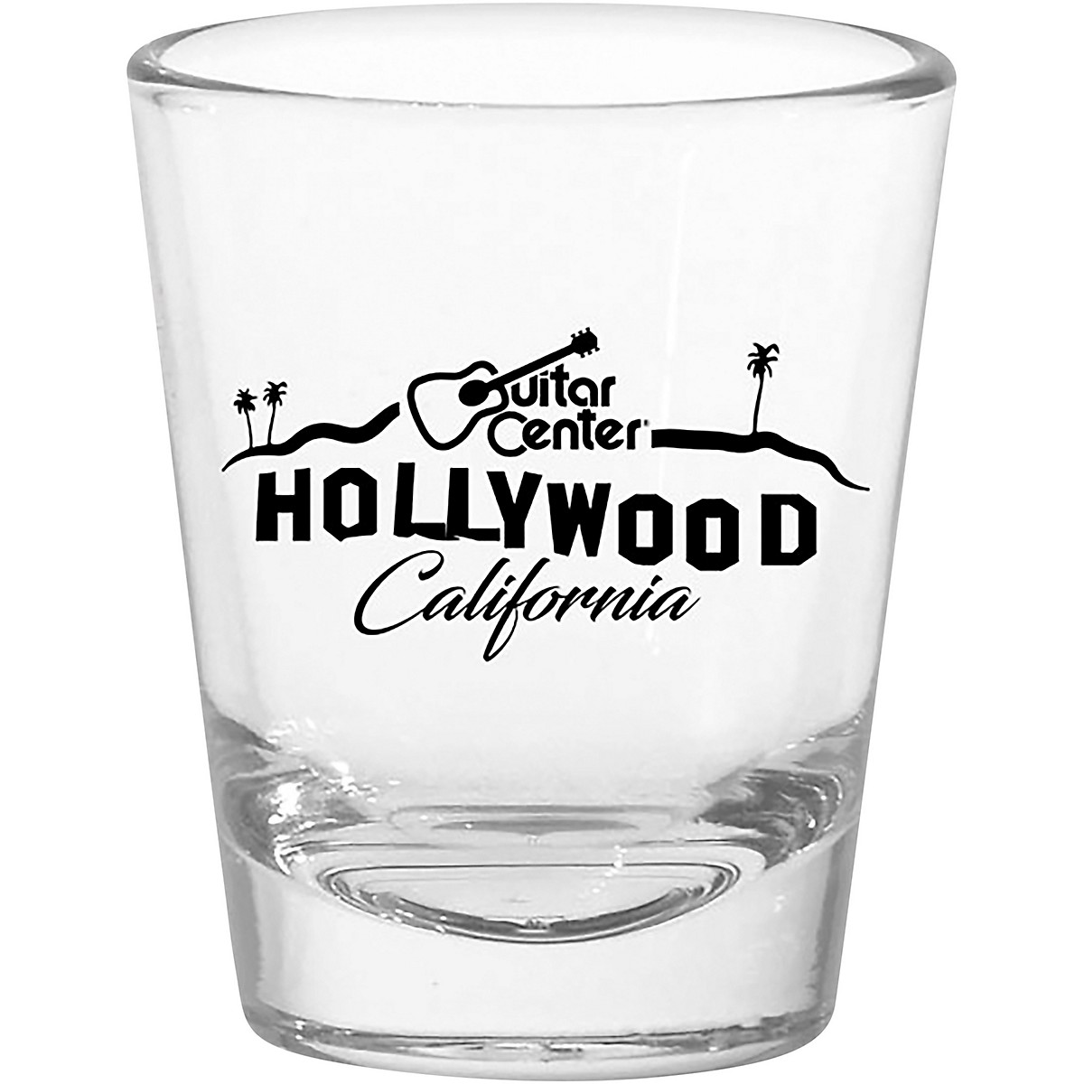 Guitar Center Hollywood 1.75 oz. Tapered Shot Glass