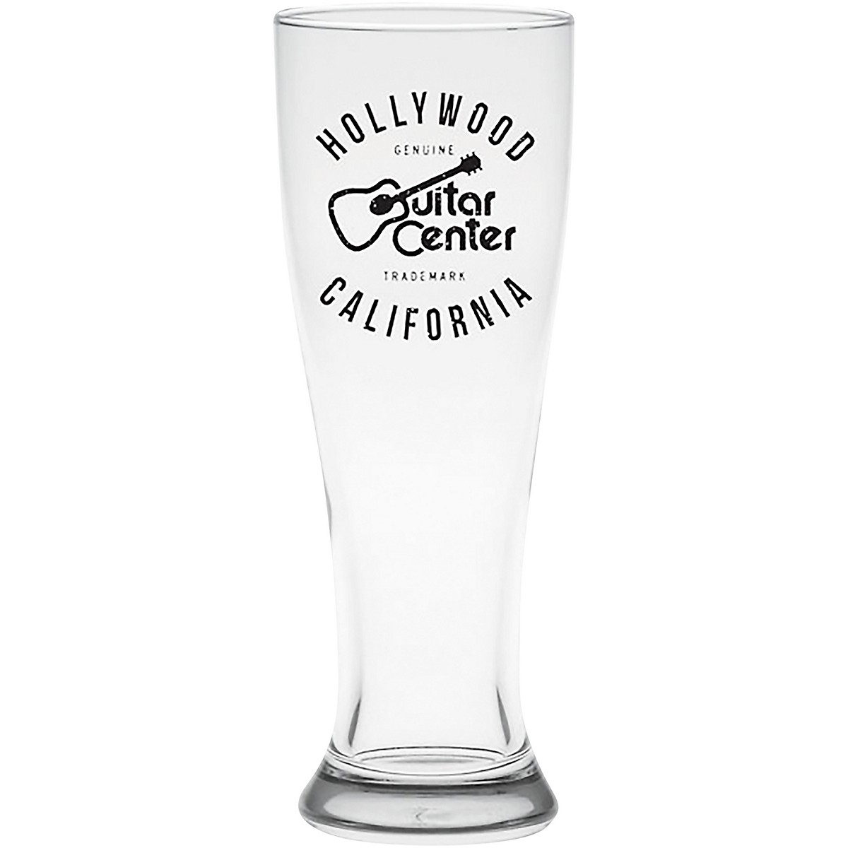 Guitar Center Hollywood 16 oz. Pilsner Glass