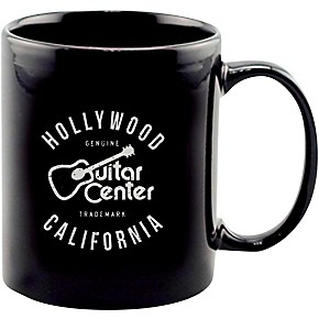 guitar center hollywood ca coffee mug black guitar center. Black Bedroom Furniture Sets. Home Design Ideas
