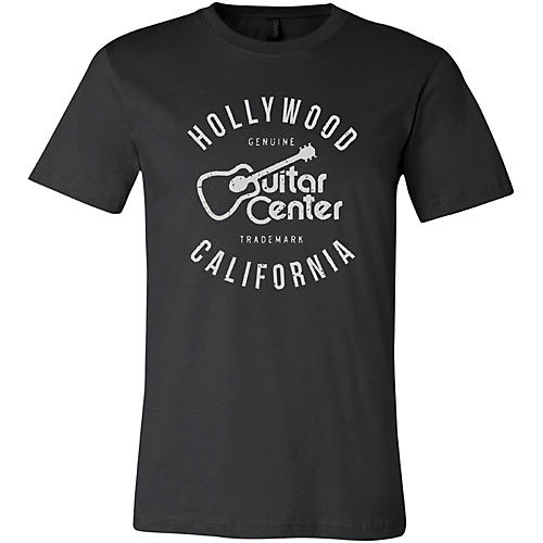 Guitar Center Hollywood CA Ladies Logo T-Shirt
