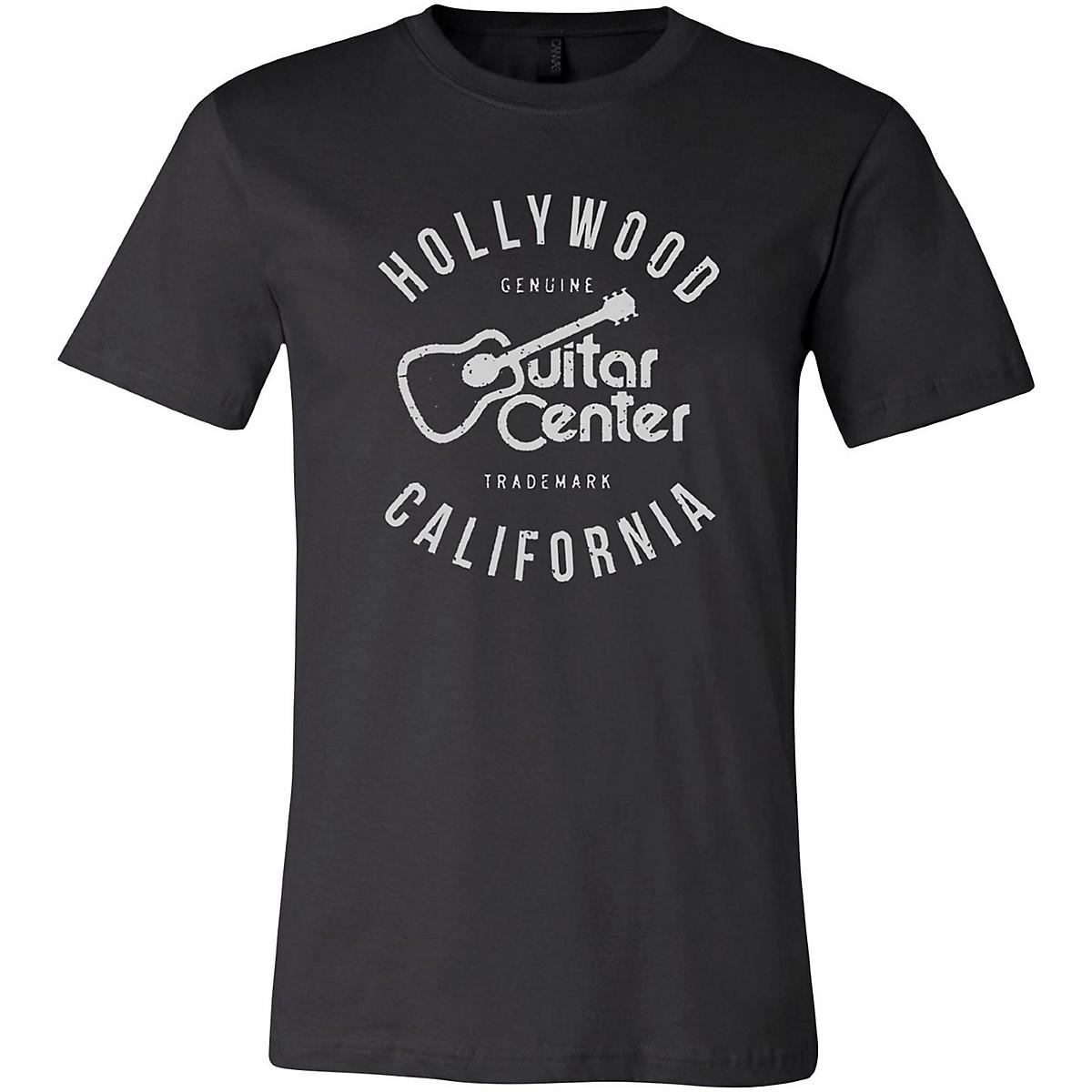 Guitar Center Hollywood CA Mens Logo T-Shirt