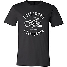 Guitar Center Hollywood CA Mens Logo T-Shirt Black 3X Tall
