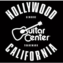 Guitar Center Hollywood, California GO - Black/White Sticker
