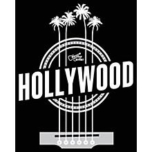 Guitar Center Hollywood Palm Strings - Black/White Magnet