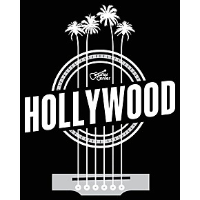 guitar center hollywood palm strings black white sticker guitar center. Black Bedroom Furniture Sets. Home Design Ideas