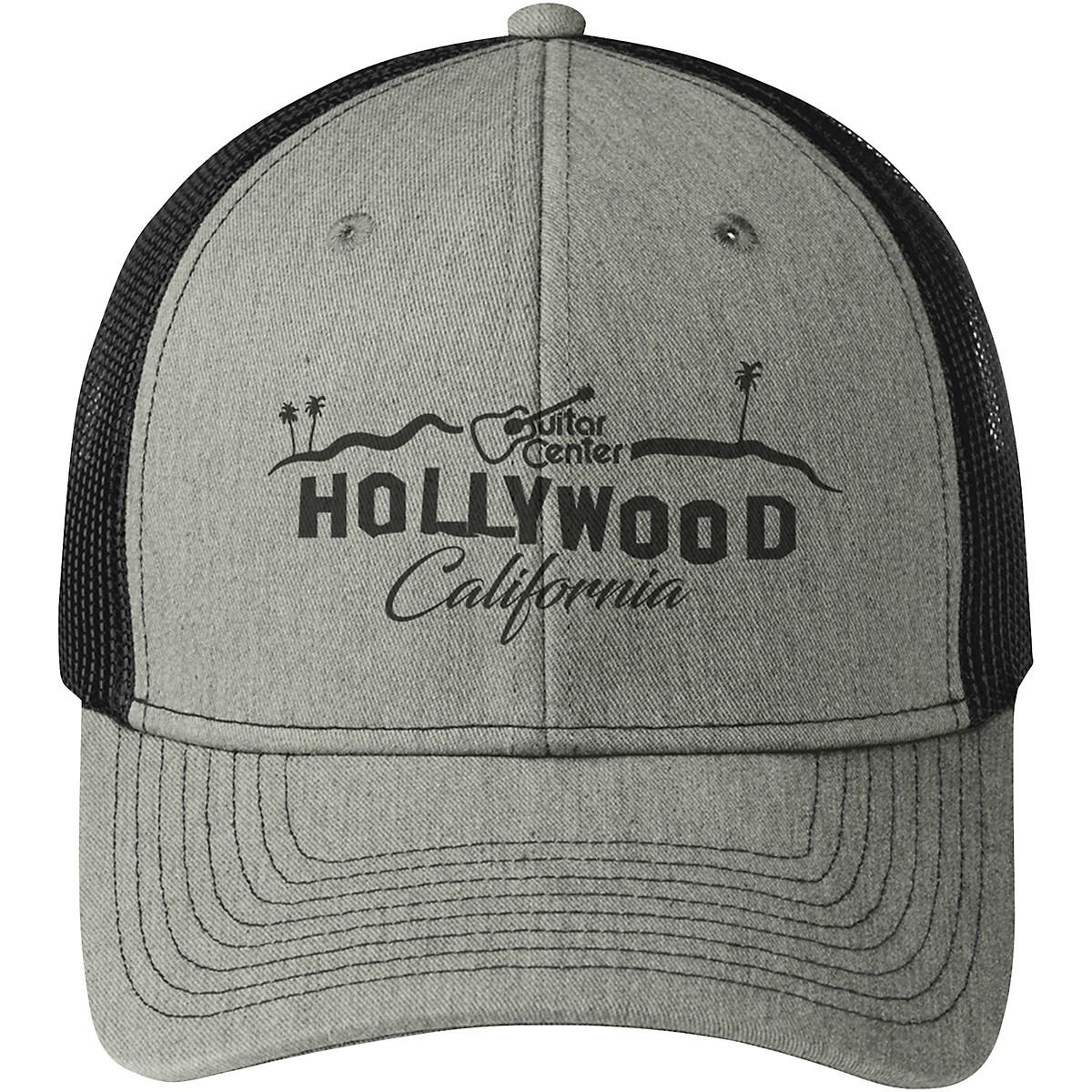 Guitar Center Hollywood Snapback Trucker Cap
