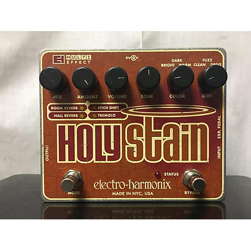 Electro-Harmonix Holy Stain Distortion Reverb Effect Processor