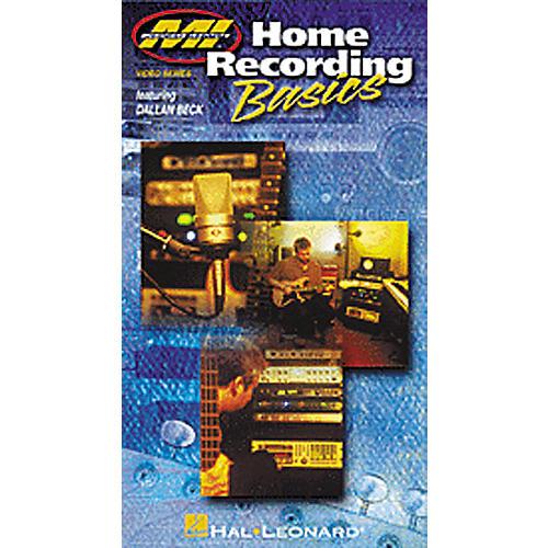 Hal Leonard Home Recording Basics (VHS Video)