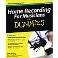 Hal Leonard Home Recording For Musicians For Dummies thumbnail