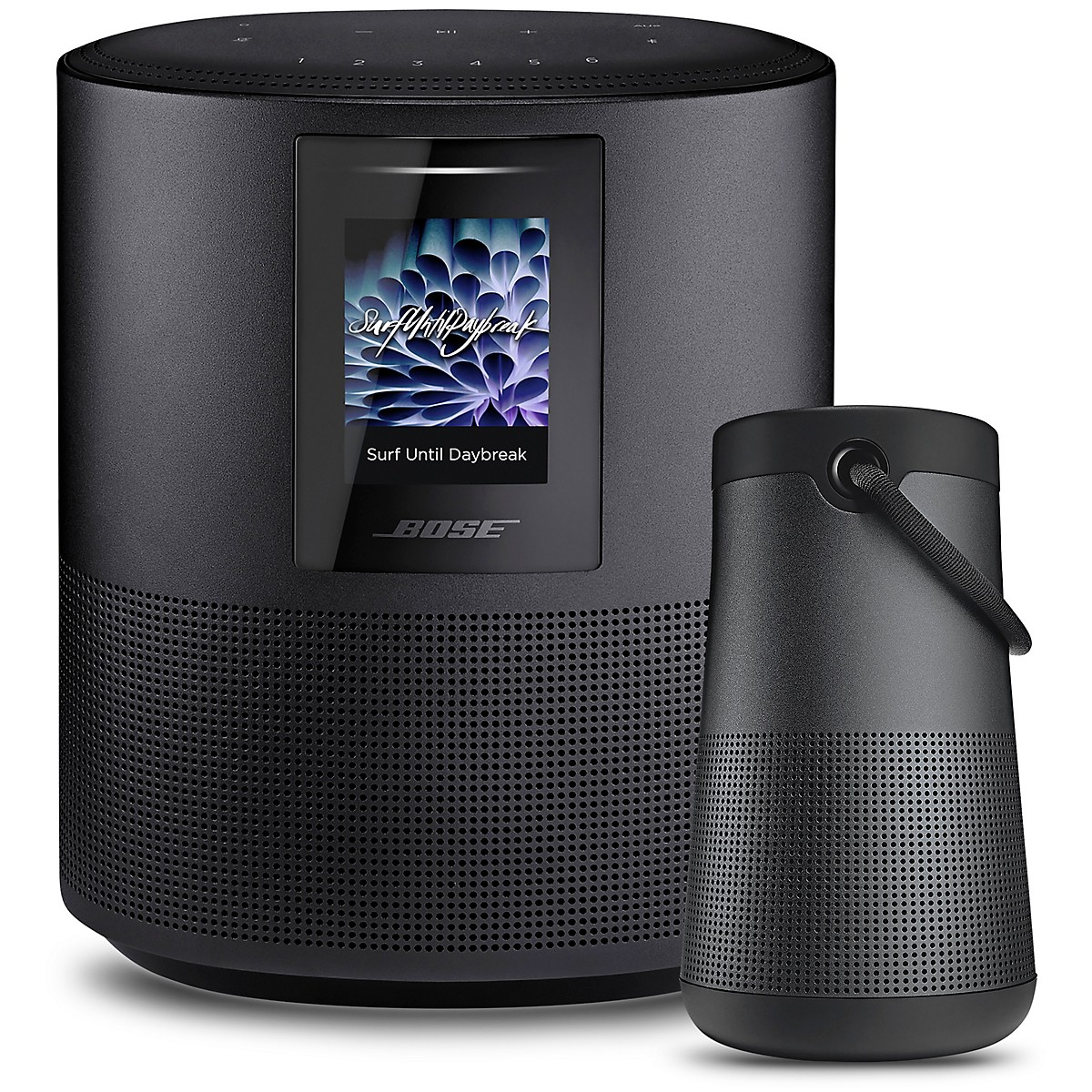 Bose Home Speaker 500 and Soundlink Revolve +