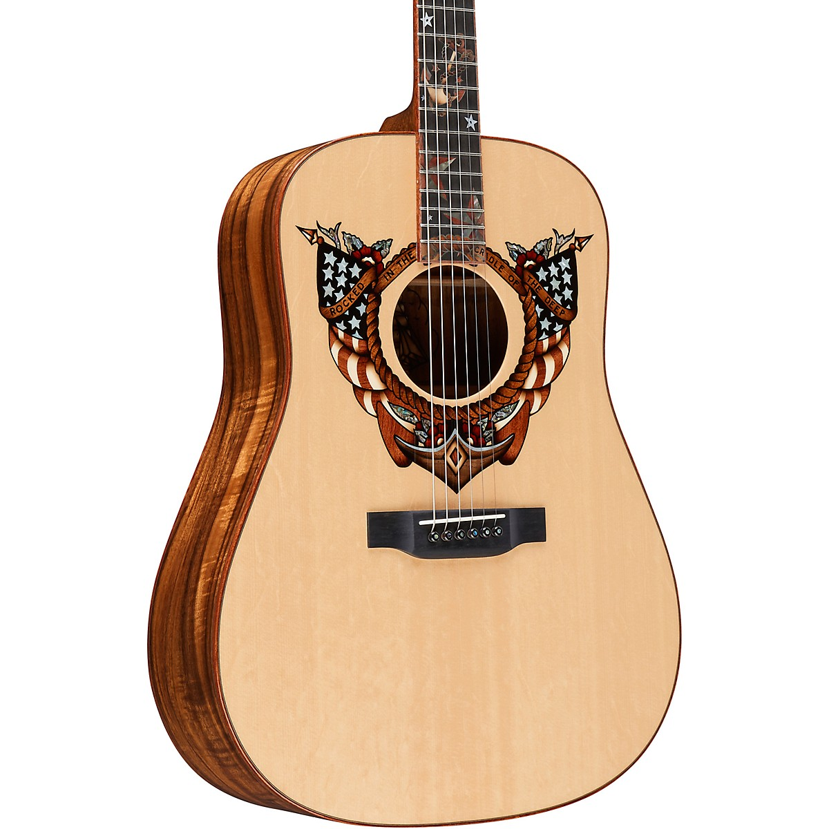 Martin Homeward Bound (Sailor Jerry) Dreadnought Acoustic Guitar