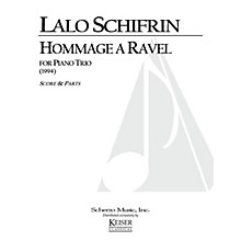 Lauren Keiser Music Publishing Hommage a Ravel (Piano, Violin, Cello) LKM Music Series Composed by Lalo Schifrin