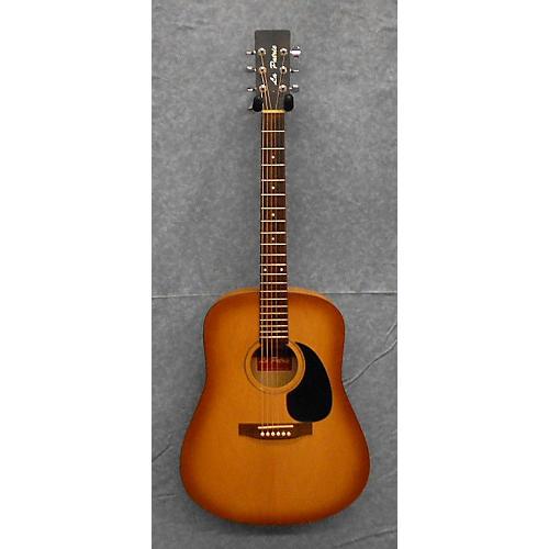 La Patrie Honey Burst Acoustic Guitar