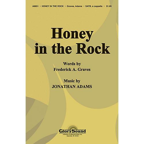 Shawnee Press Honey in the Rock SATB a cappella arranged by J. Adams