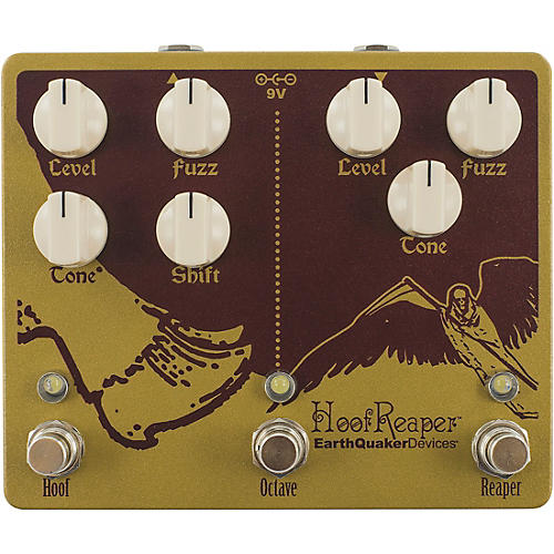 Earthquaker Devices Hoof Reaper V2 Effects Pedal