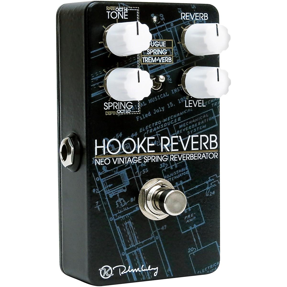 Keeley Hooke Spring Reverb Effects Pedal