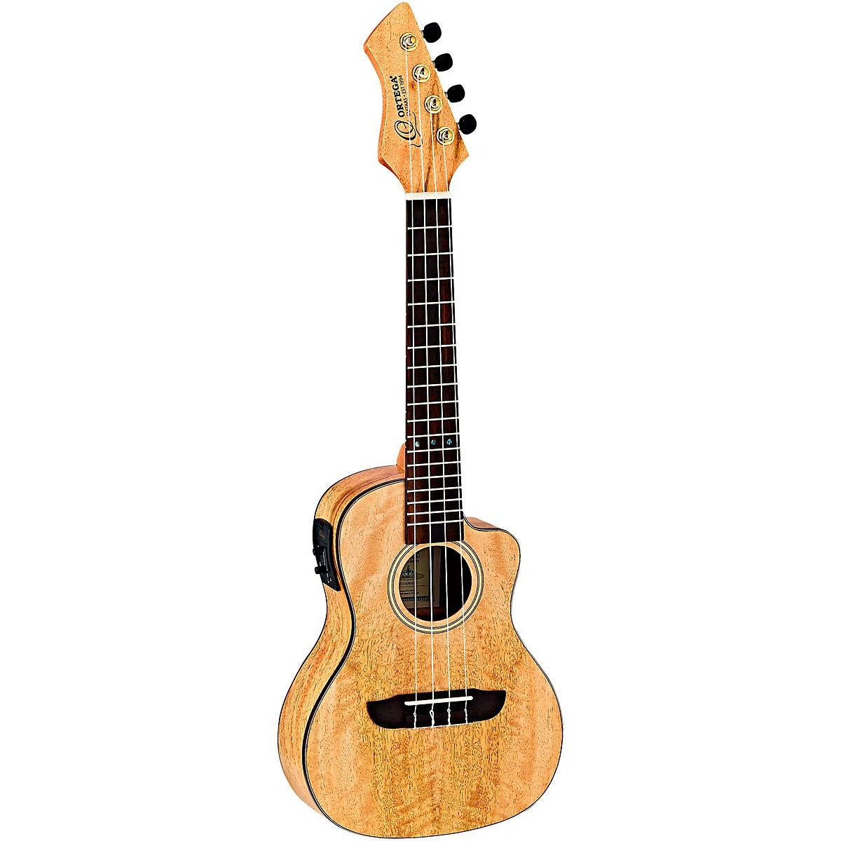Ortega Horizon Series RUMG-CE Mango Concert Acoustic-Electric Ukulele